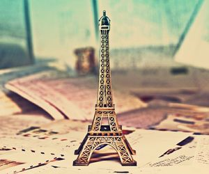 eiffel, cute, and tower image