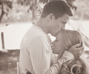 kiss, sun, and love image