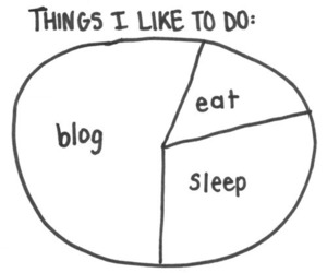 blog, sleep, and eat image