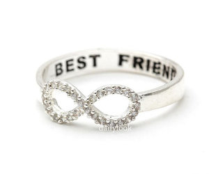 best friends, jewelry, and ring image