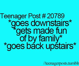 family, teenager post, and fun image