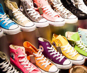 colorful, shoes, and sneakers image