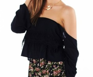 off the shoulder top image