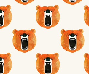 bear, wallpaper, and background image