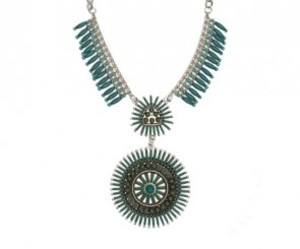 fashion, statement necklace, and tribal necklace image