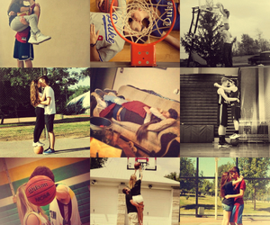 Basketball, couple, and love image