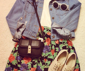 clothes, jean shirt, and fashion image