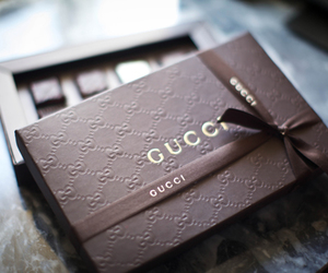 gucci, box, and luxury image