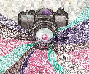 camera, art, and photography image