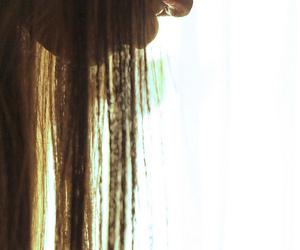 backlight, hair, and nose image