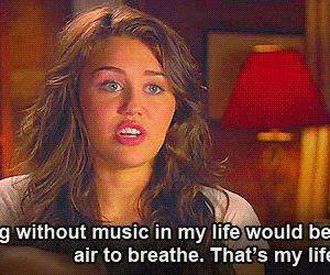miley cyrus, music, and life image