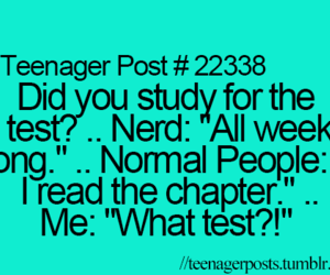 test, teenager post, and me image