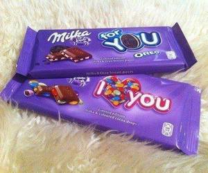 milka, chocolate, and oreo image