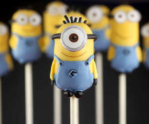 minions, cute, and food image