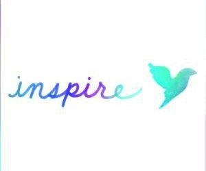 inspire, overlay, and transparent image