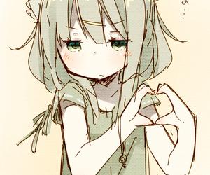 girl, manga, and Otaku image