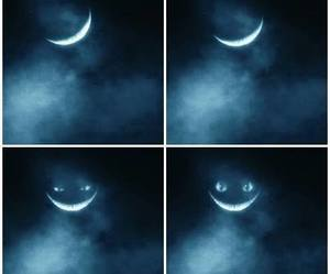 moon, cat, and smile image