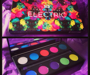 bright, colorful, and electric image