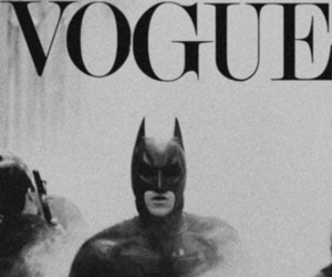 batman, black and white, and vogue image