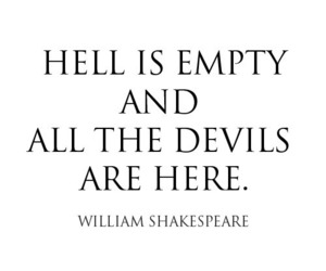 hell, quotes, and Devil image