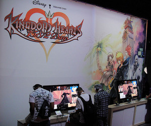2009, booth, and square enix image