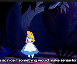 alice in wonderland, believe, and live image