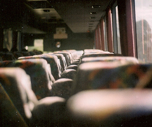 bus, film, and photography image