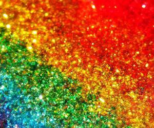 glitter and rainbow image