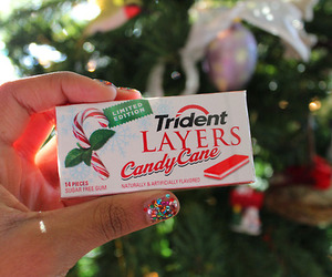 christmas, tumblr, and gum image