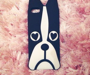 iphone, iphonecase, and bostonterrier image