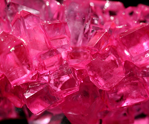 pink, crystal, and ice image