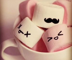 candy, mustache, and cute image