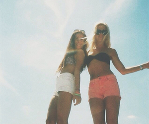 summer and girl image