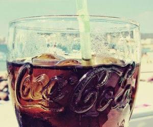 coca cola and ice image