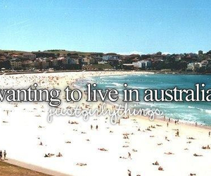australia, just girly things, and beach image