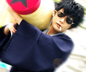 boy, cosplay, and gintama image