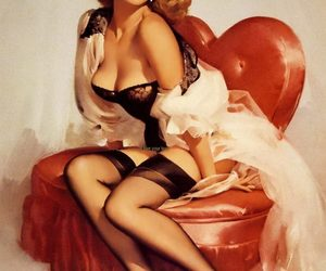 amor, anos 80, and Pin Up image