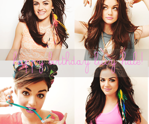 lucy hale, pretty little liars, and Seventeen image
