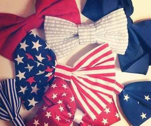 bow, red, and blue image