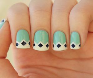 beautiful, fashion, and nail art image