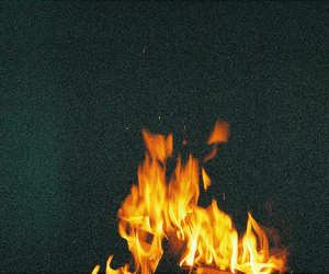 fire, indie, and dark image