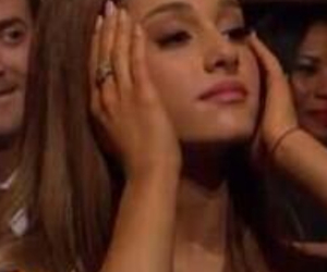 ariana, reaction picture, and music image