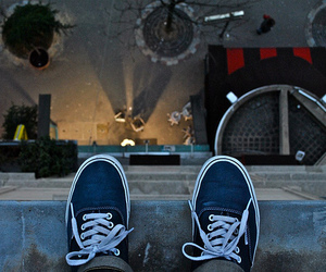 vans, shoes, and jump image