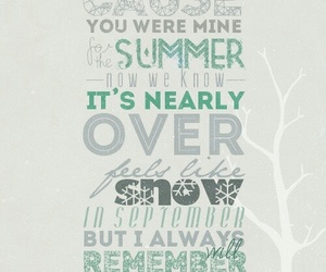 one direction, summer love, and Lyrics image