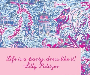 quotes and lilly pulitzer image