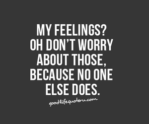 quote and feelings image