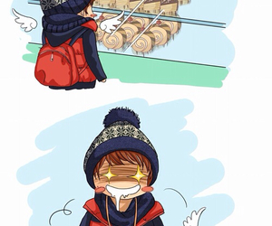 delicious food, Onew, and Taemin image
