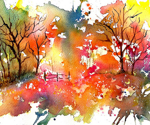 colorful, draw, and paint image