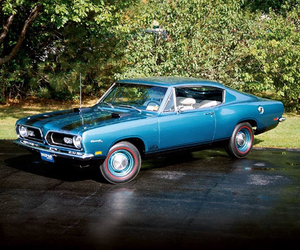 1969, blue, and car image