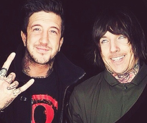 austin carlile, oliver sykes, and bring me the horizon image